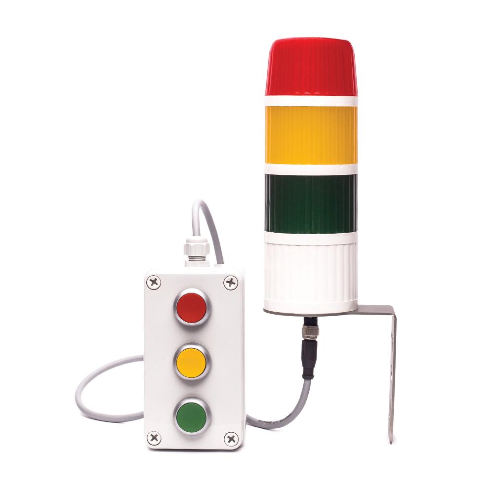 Wieża sygnalizacyjna TS-Ad z pulpitem sterowniczym