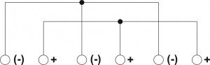 Schemat elektryczny puszki PIP-2AN/Rozgałęźna