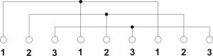 Schemat elektryczny puszek PIP-2AN/Rozgałęźna/3 żyły/4mm2 oraz PIP-2AN/Rozgałęźna/3 żyły/6mm2