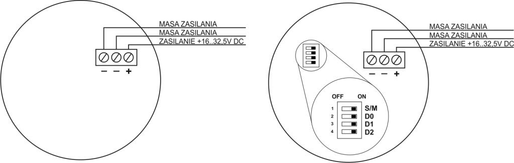 Schemat podłączenia SO-Pd13